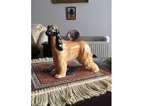 Beswick Afghan hound