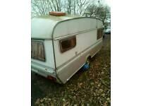 2 berth caravan £395 ono