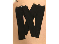 School Trousers Girls (black) - Mainly M&S - 11-14 years - 12 pairs - £1 each pair