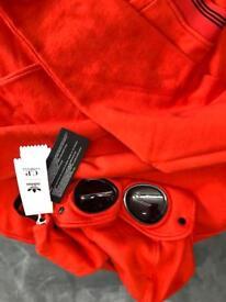 Adidas x CP Company Orange Hoodie S