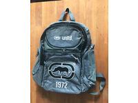 Mans Backpack Ecko unltd Grey School