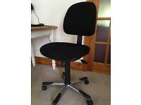 Black Desk/Office Swivel Chair
