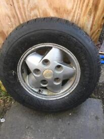 Landrover discovery alloy
