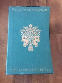 William Shakespeare Folio the complete plays