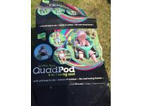 TP quad pod swing set 6 months-8 years