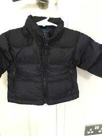 Boys Ralph Lauren puffer coat 6-9months