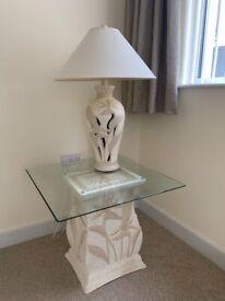 Ornate table lamp
