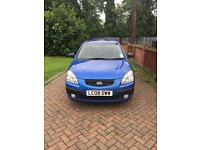 KIA RIO 1.4 2 5DR METALLIC BLUE 90K *1 YEARS MOT* IN IMMACULATE CONDITION