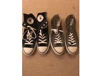 New Men's Taylor all star converse trainers size UK 11 grey