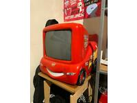 Lightning McQueen crt tv