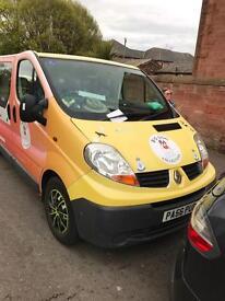 Renault trafic 2.0ltr crew cab