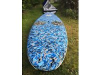 Starboard paddle board good condition rarely used