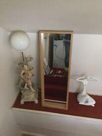 Wooden. Mirror