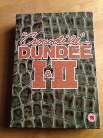 Crocodile Dundee 1 and 2 DVDs
