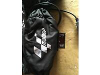 Moto GP digital tyre warmers and paddock stands