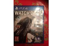PS4 Watchdogs Game
