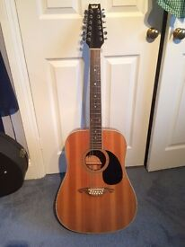 Westone 12 string acoustic guitar - great condition