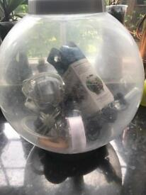 Large biOrb tropical or cold water fish tank