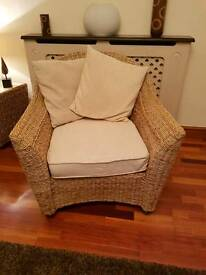 Conservatory Rattan chair