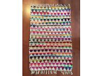 URBAN OUTFITTERS cotton rug 2x3 inches