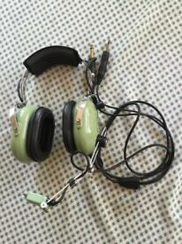 Aviation Headset and Mic