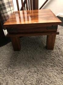 Jali wood table