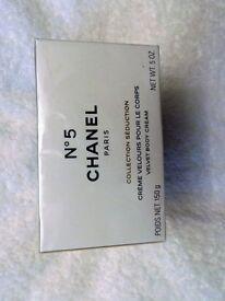 Chanel 5 Body Lotion.