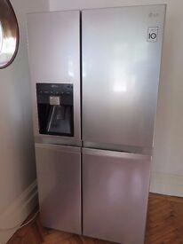 LG American Style Fridge Freezer (Non-Plumbed) – Silver