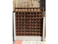 Trellis Panel - All Sizes - Pressure Treated Wood Timber Garden Fence