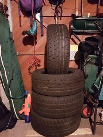 Four Winter Tyres - Matador Sibir Snow 17 Inch - 275/75 R17