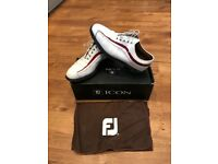 Footjoy Icon Golf Shoes - size 8