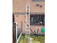 Wickes Domestic 2 Section 22 Rung Ladder