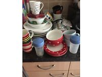Lots of crockery in good condition