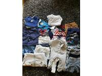 3-6 months boys baby clothes bundle