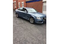 Light damaged 2009 AUDI A4 DIESEL SALOON - 2.0 TDI