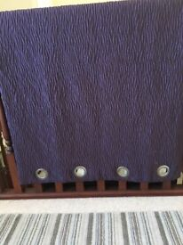 Reduced NEW Fully Lined M and S Curtains with free cushion