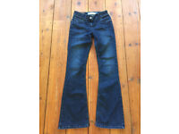 Fat Face Womens Bootcut Jeans Size 8