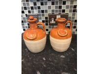 Donald Fisher ceramic jugs