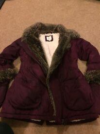 Kids purple jacket