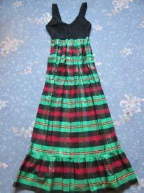 Vintage 'Sherman of London' Long Dress