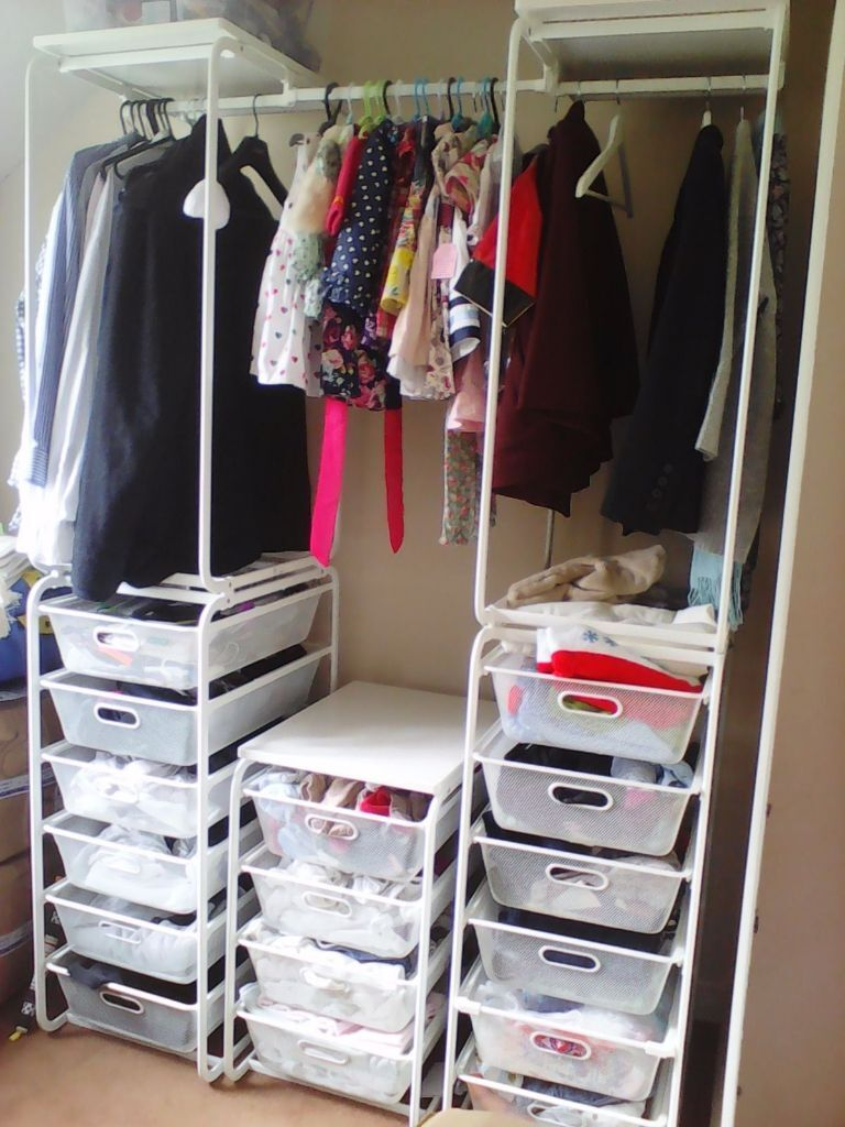 algot clothes storage system ikea wardrobe immaculate in southsea hampshire gumtree. Black Bedroom Furniture Sets. Home Design Ideas
