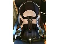 Evenflo Maestro Harness Booster Car Seat with full instruction guide Excellent Condition
