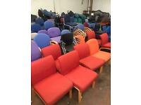 Orange Reception/ Waiting Area Chairs