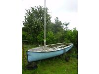 Albacore Dinghy (GRP) needs a caring owner