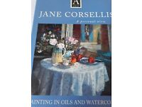 Jane Corsellis oils and watercolour