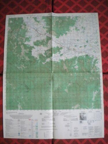 "BINH KHE Vietnam map ""Hairpin"" Air Cav AIRBORNE MACV 6736 I"