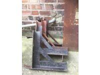 Gallow Chimney brackets + Metel plate + Sporting bar