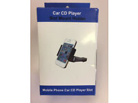 Car CD Player Slot Mobile Phone Holder