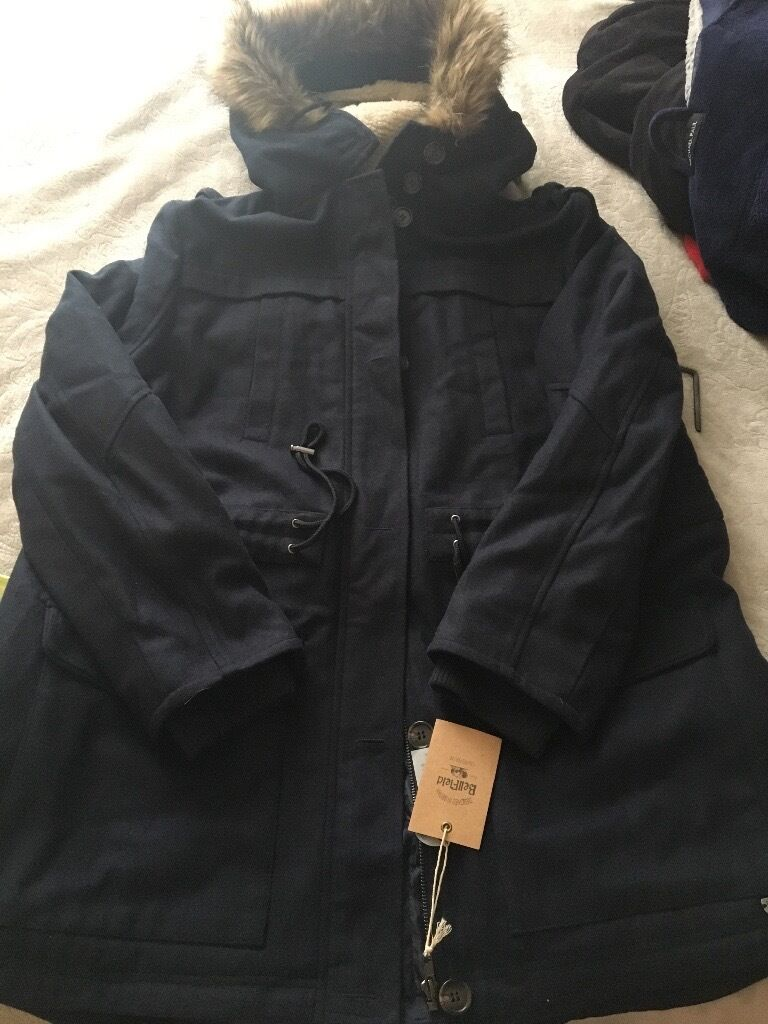 Woman's parka coat brand new with tags