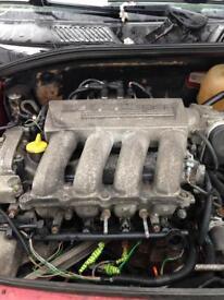 Renault Clio 172 2.016v Engine 2003 plate